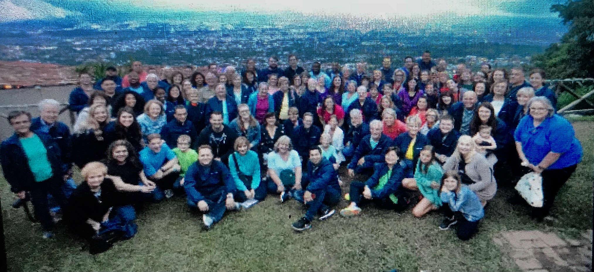 Choir & Orchestra overlooking San Jose