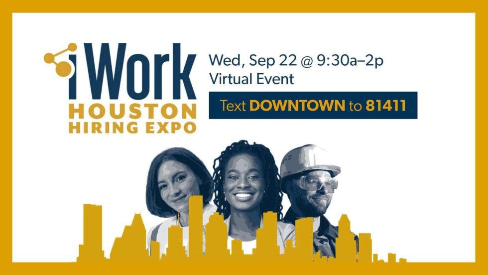 Dt I Work Houston Hiring Expo 2021 09